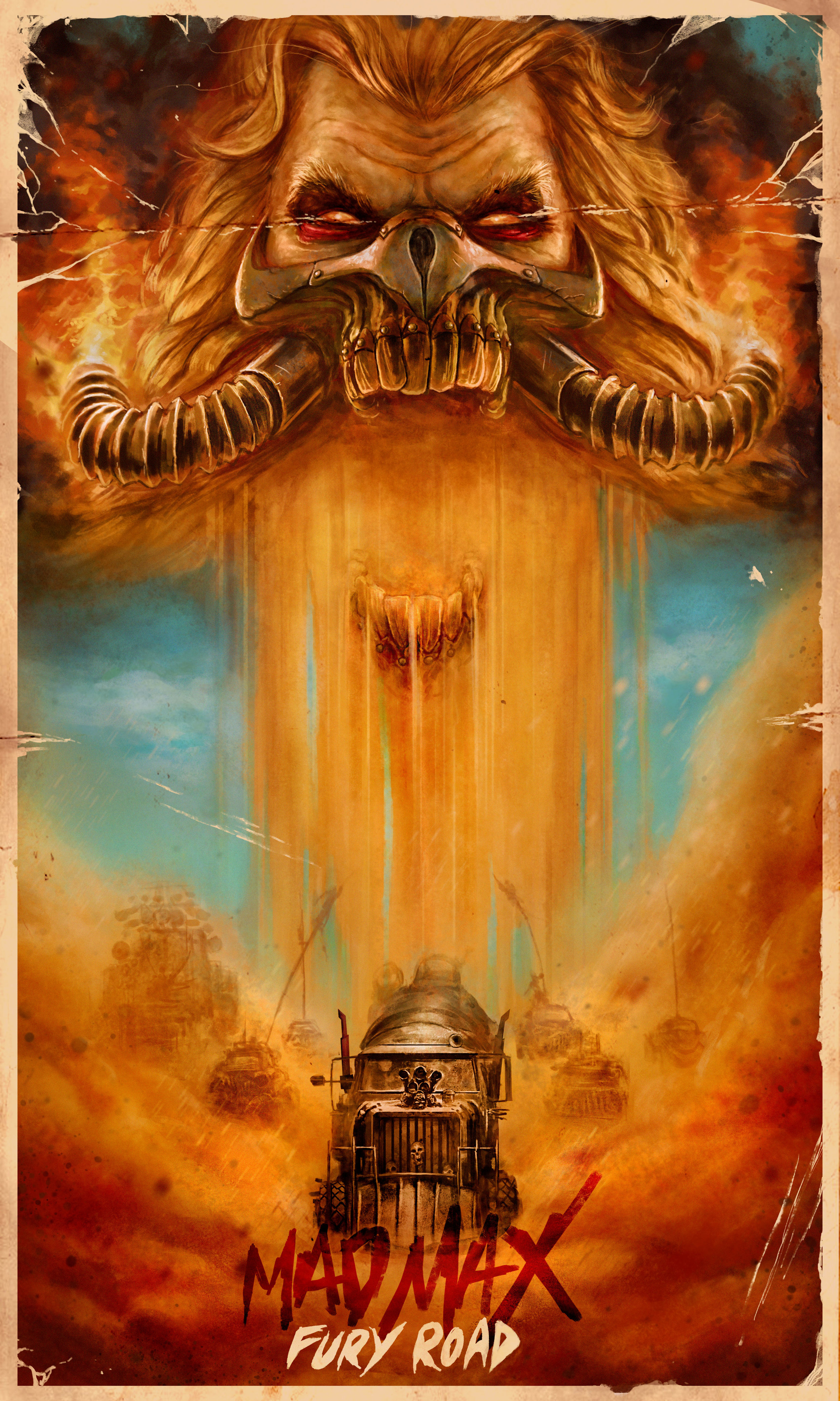 """""""You shall ride eternal. Shiny and chrome!"""" Done in Photoshop CS6"""