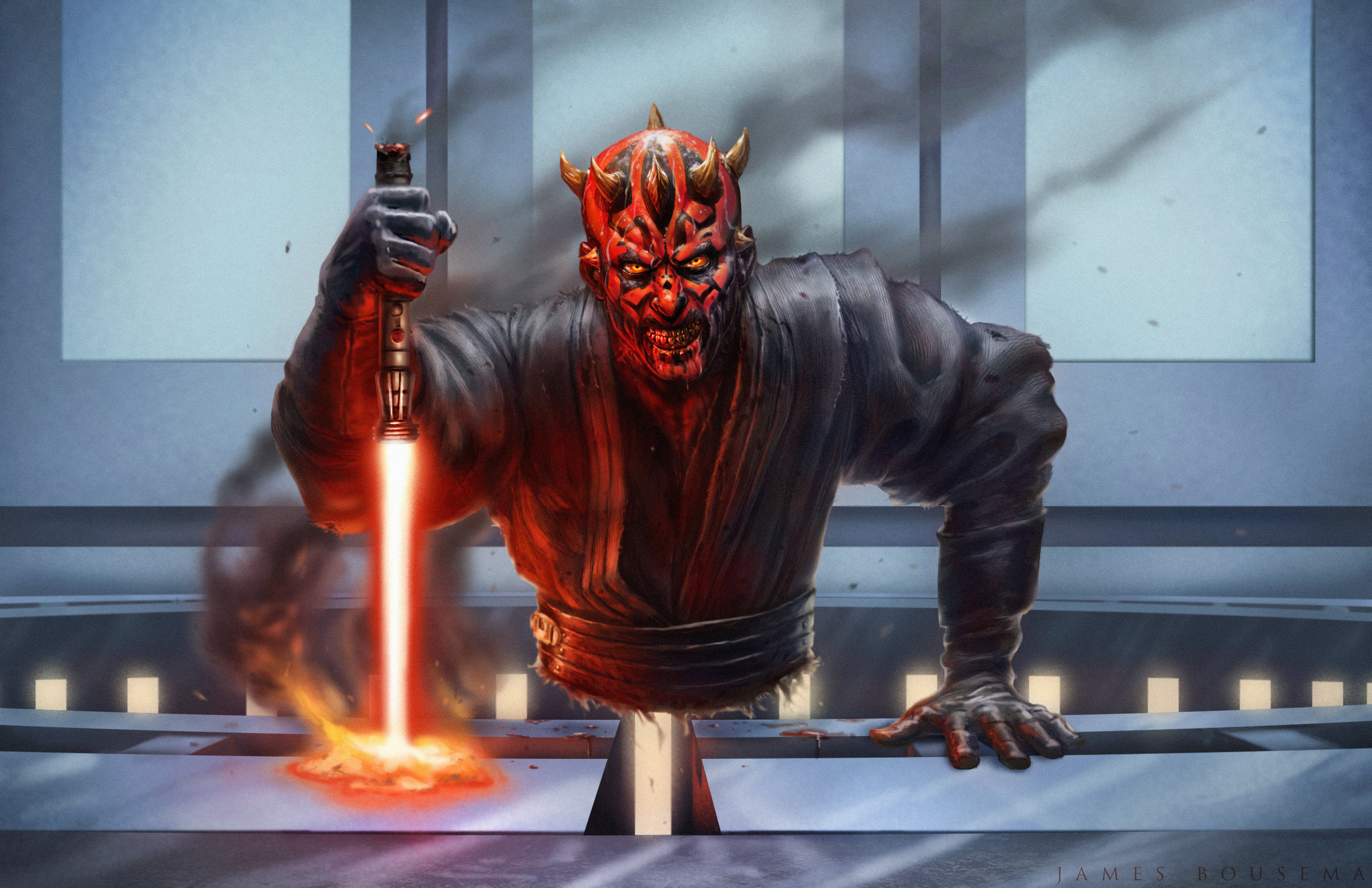 This Sith will not go down without a fight Done in Photoshop CS6