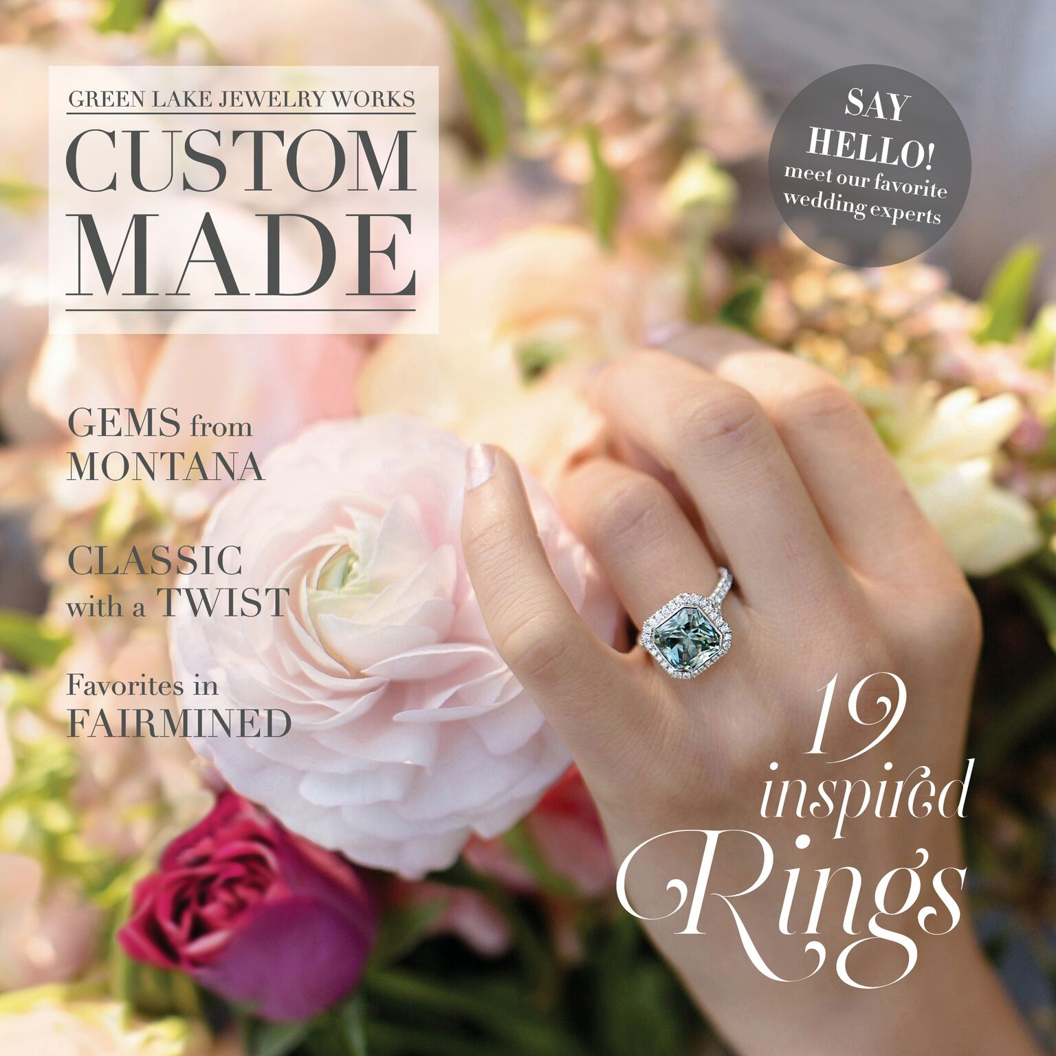 Green Lake Jewelry 2018 Look Book | Print/Web