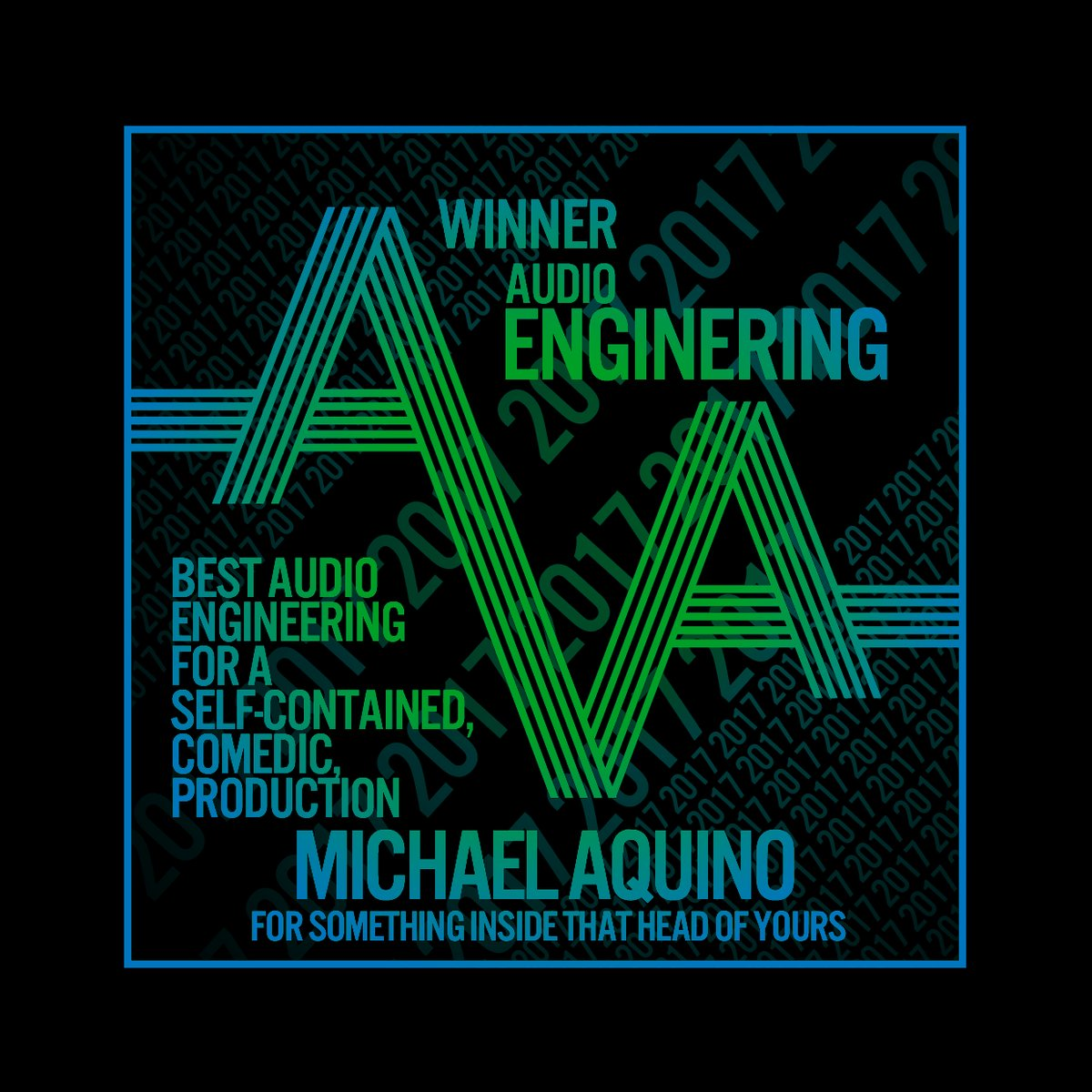 Audio Verse Awards Winner Art, Engineering