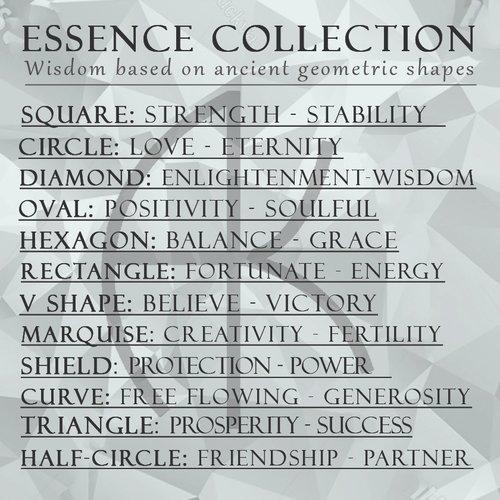 Designer Line - Metal - with meaning - ESSENCE — Arlee Kasselman