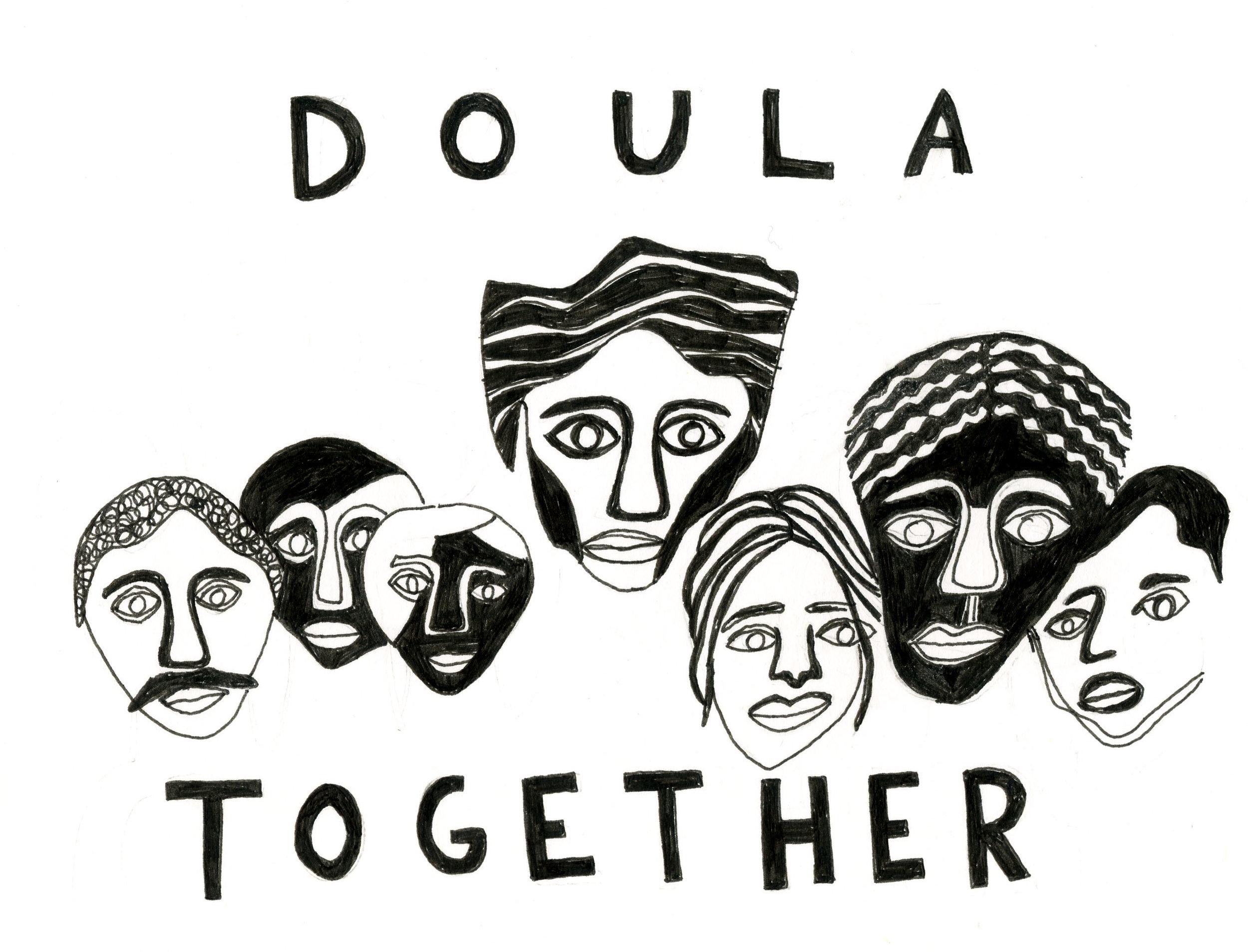 Original Design by kyla krug-meadows for Doula Trainings International (DTI)  click image for more info