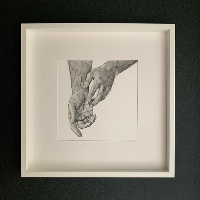 Finally finished this piece just in time for Easter. It now hangs at the bottom of our stairs and every morning we are reminded of the Savior and His sacrifice.