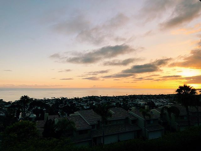 Still crazy to call this home • • • • • • • • • • #sunset #sanclemente #adventure #home #pacific #views #wheretonext