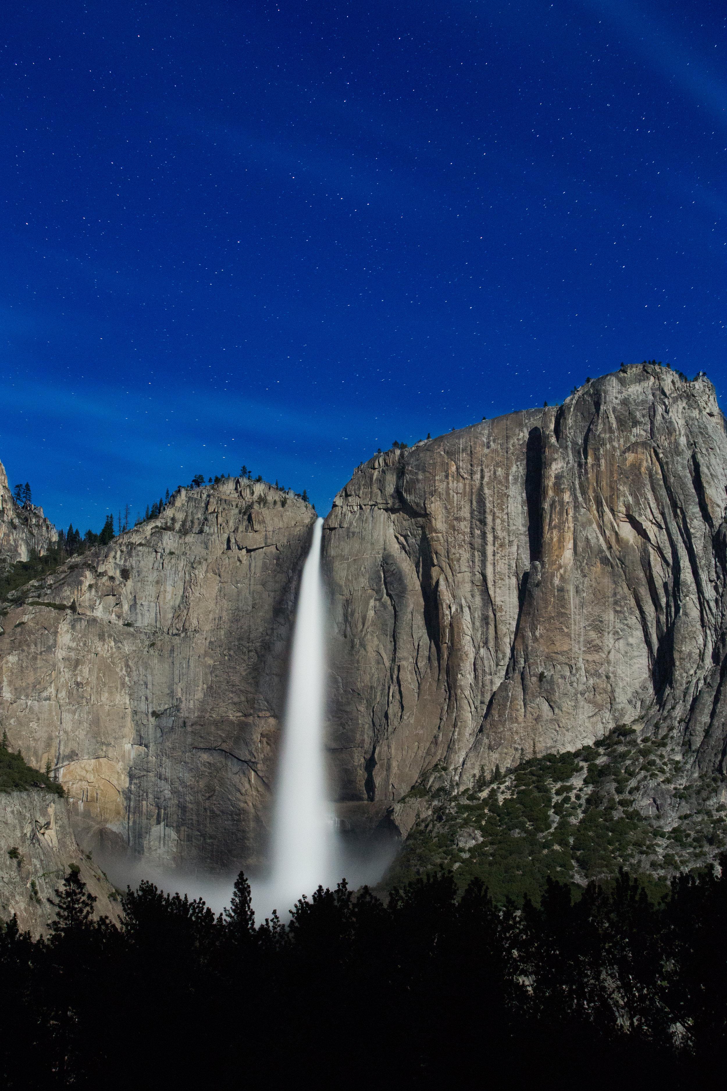 Upper Yosemite Falls 3 a.m.   Davis Gerber Works