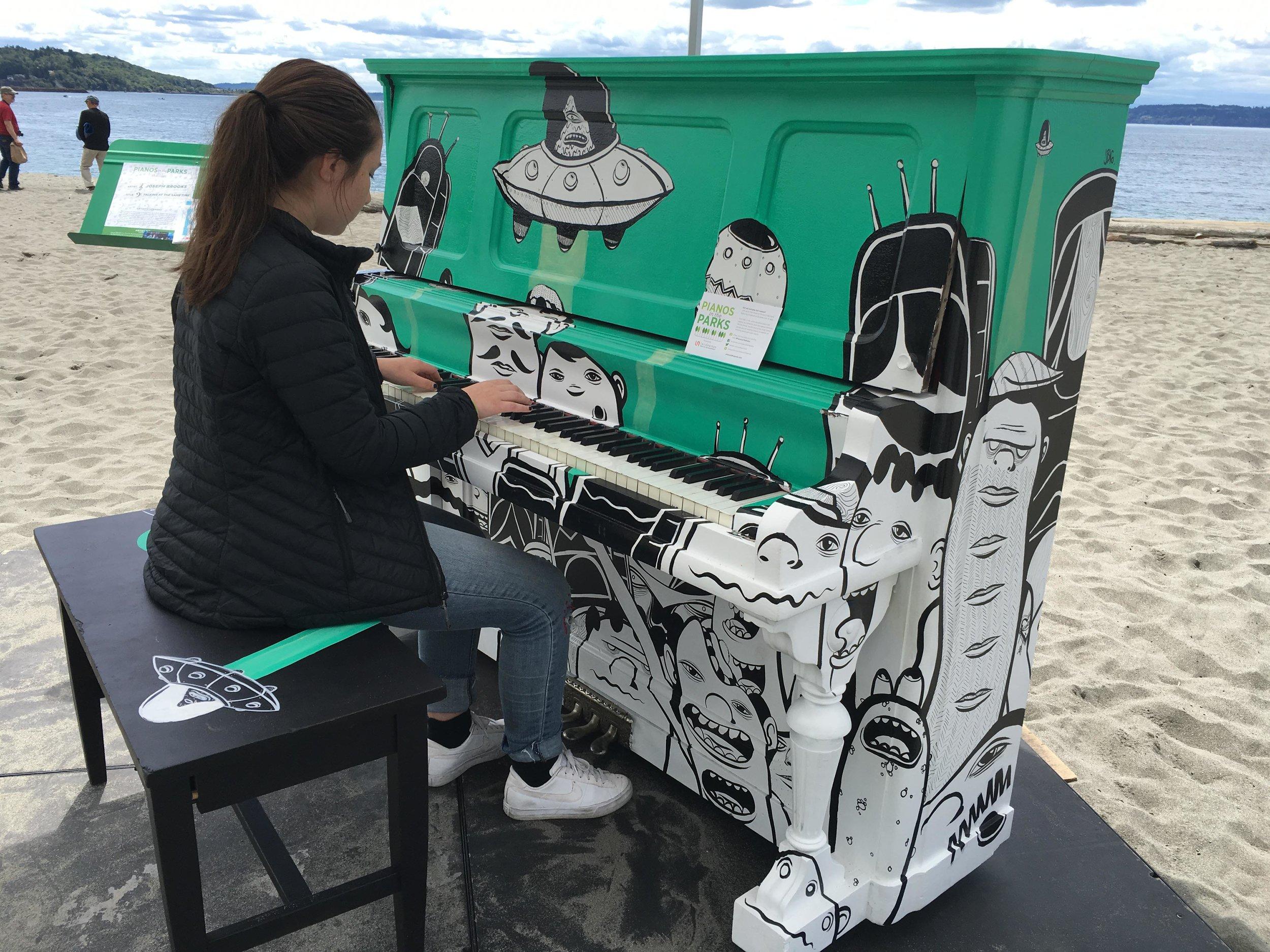 JOSEPH BROOKS - COMMISSION: PIANO