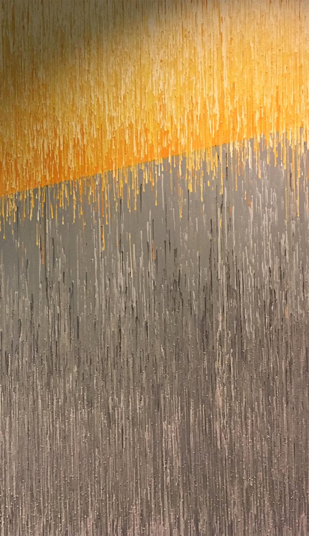 """DRIP 13 - acrylic on canvas - 36"""" x 60"""""""