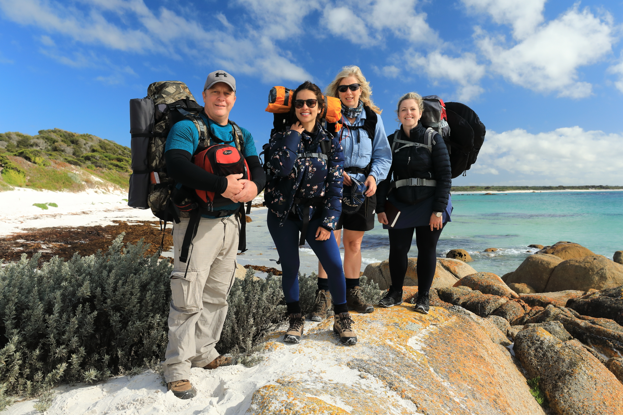 Group Photo Bay of FIres Walk For Spiritual Seekers..JPG