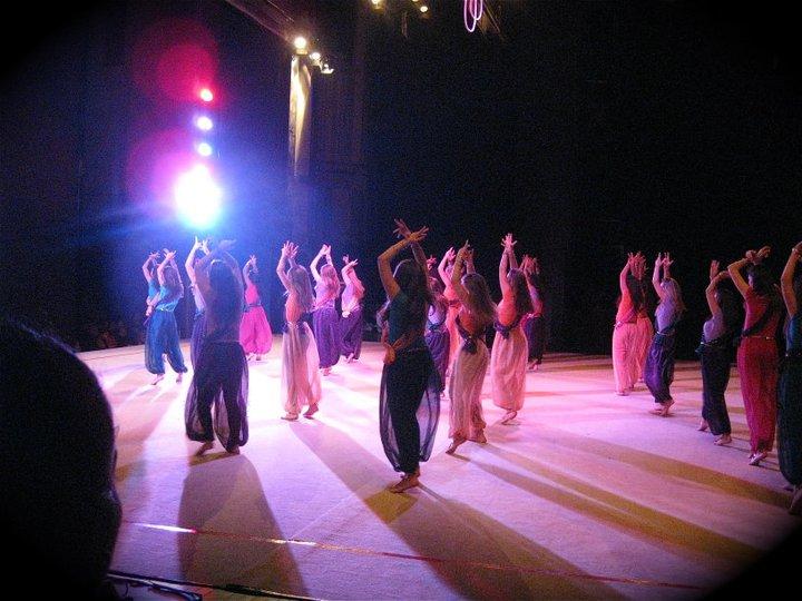 Bollywood dancing at the Koop Cup