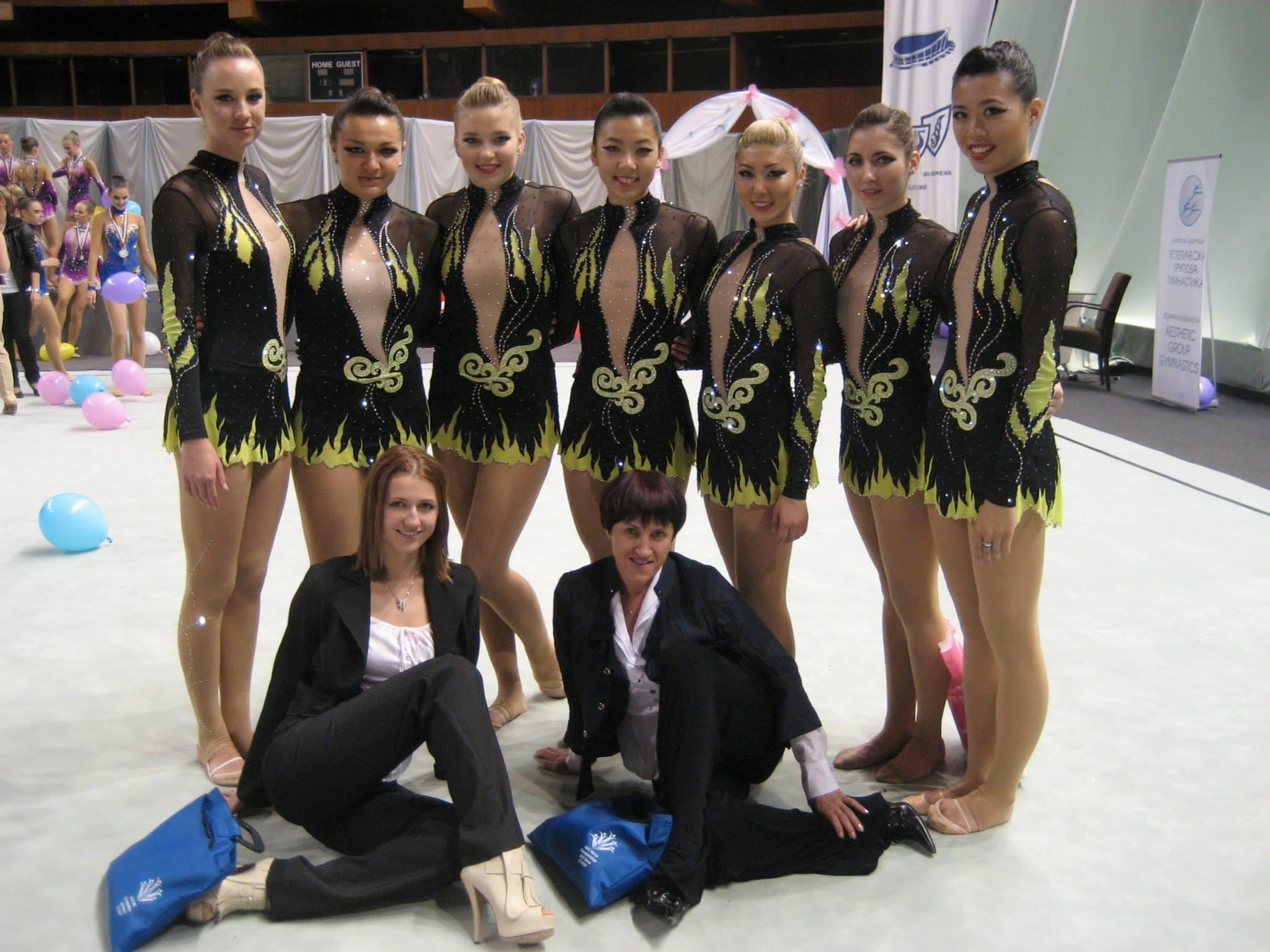 With  Alena V. , Stefani Viinamae , Katia Kharlip , Sasha Lukashova , Esther Chi , Diana Kwon, Alla Kosheleva , Dora Yudeikin and  Rosanna Tso . 2013