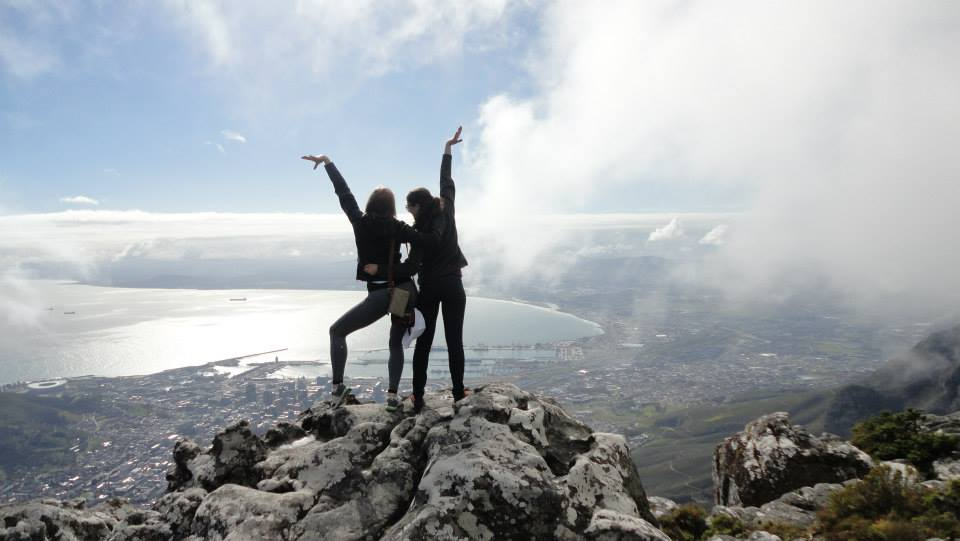 Gymnasts in Cape Town, South Africa 2014