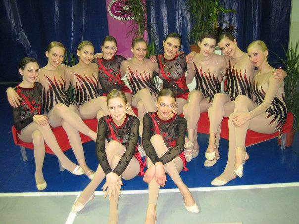 AGG Gymnasts fresh from competing in Salou, Spain 206