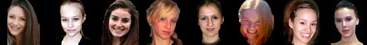 Ashley Hassard, Katriina Isberg, Carolyn Rotenberg, Maria Niderman, Katia Kharlip,  Alexis Byford, Carolyn Hertha, Danielle Graham