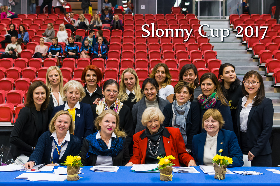 Judges at the Slonny Cup