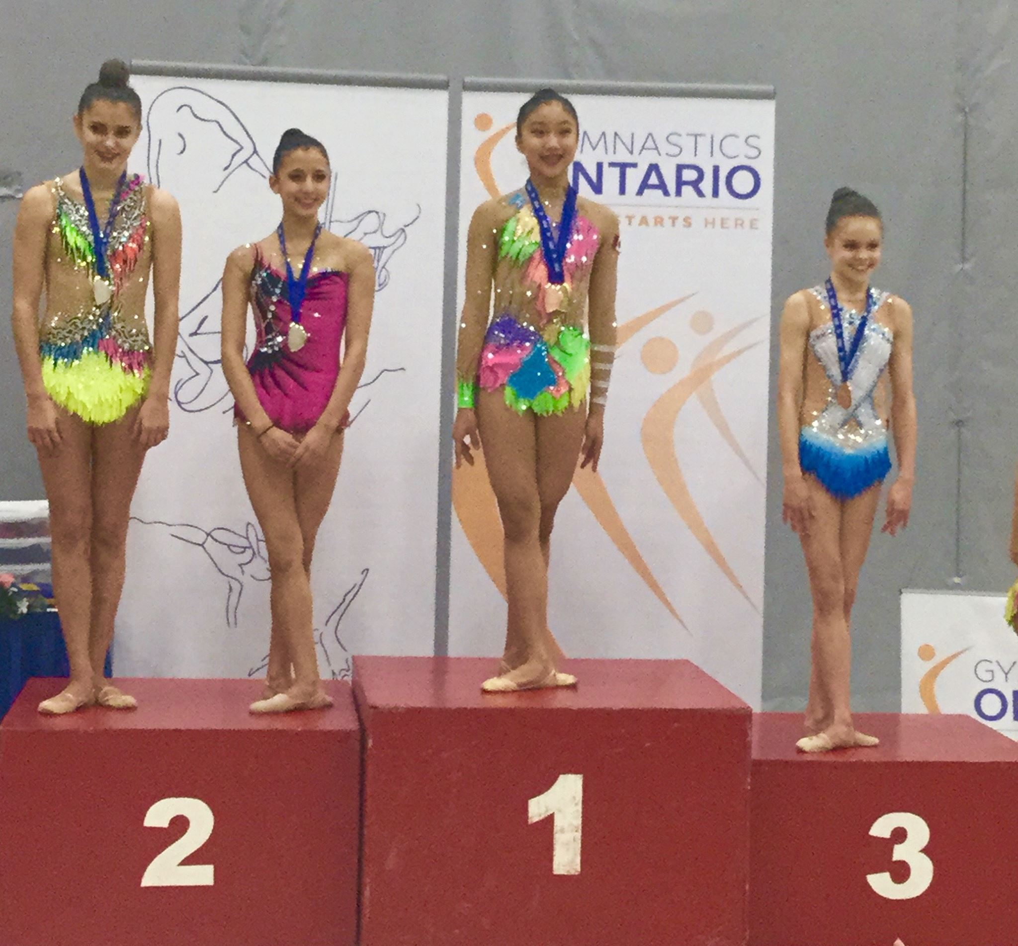 Joy coming in 1st at Elite Ontario
