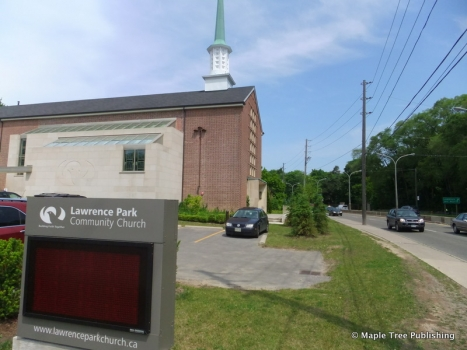 LAWRENCE PARK COMMUNITY CHURCH   Bayview near Lawrence