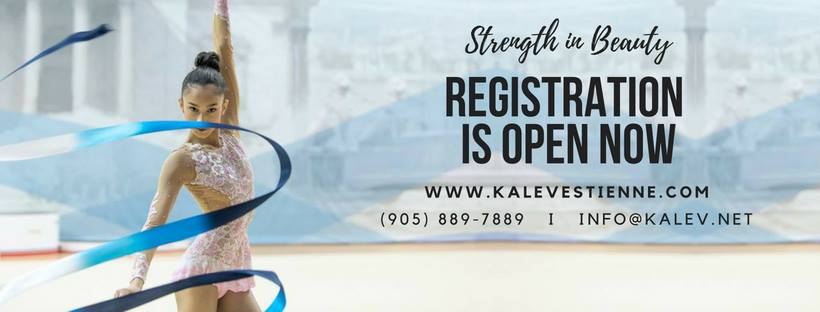Registration for our 2018/2019 program is now open! - For more information please call 905 889-7889, email us at info@kalev.net or visit one of the below locations during the registration times! :)