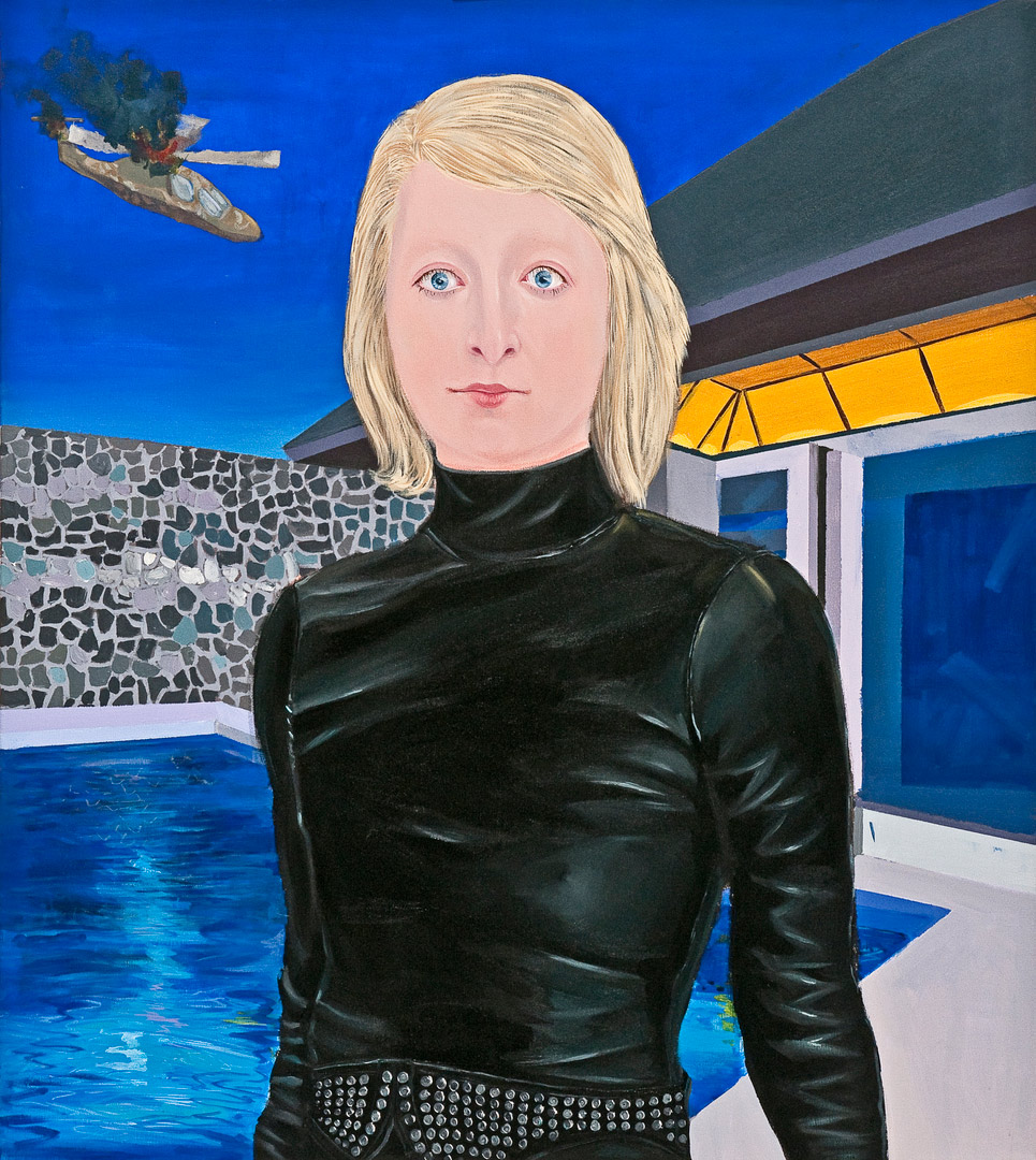 I Believed in You; I Trusted in you IV, 80x90cm, oil on canvas, 2011  (Private Collection)
