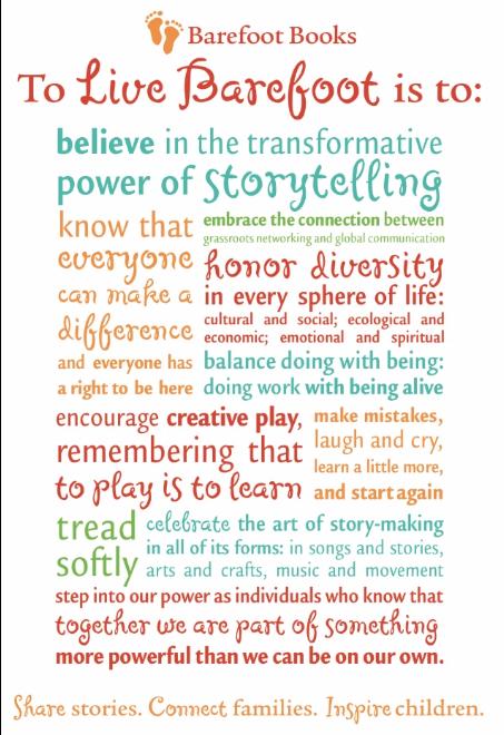 The Barefoot Books manifesto