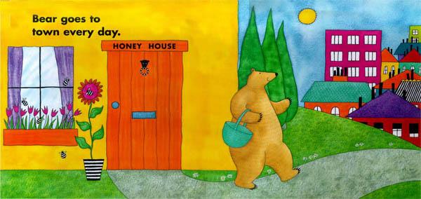 I do love the bright illustrations!