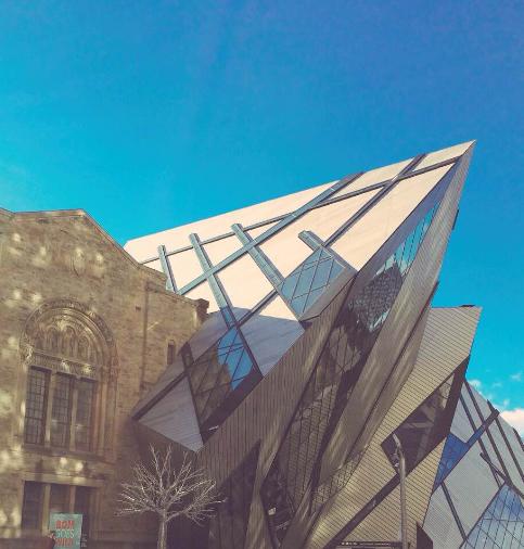 The Royal Ontario Museum in Toronto, Canada. Credit: Glendon Mellow