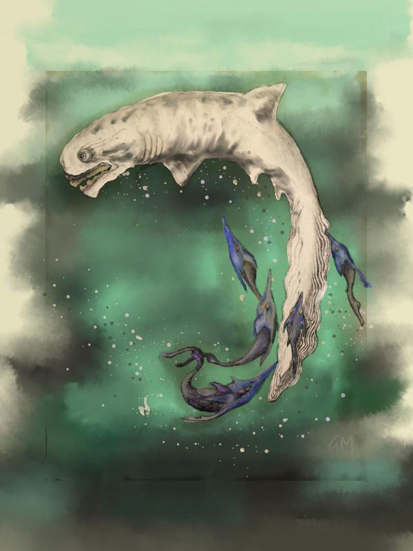 Prehistoric Fish © Glendon Mellow