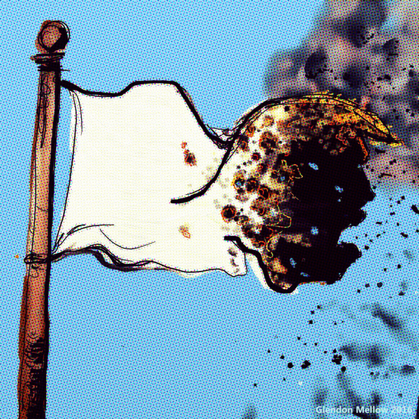 White Flag © Glendon Mellow
