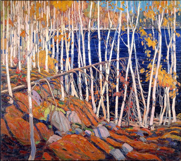 In the Northland, Tom Thomson 1915. Credit:  Montréal Museum of Fine Arts, 1922.179