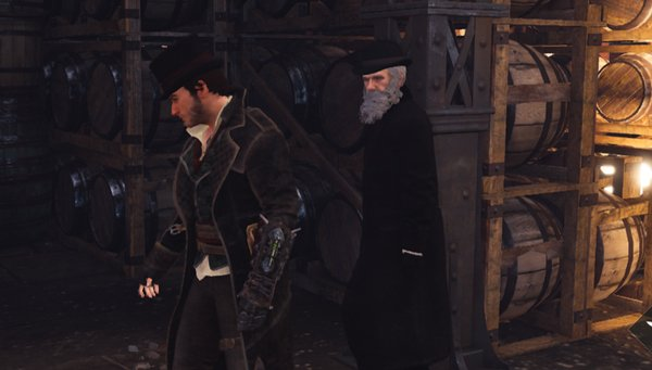 Vigorous and full of drive, Darwin makes a fast friend for the player-controlled Jacob Frye in the game.Credit: Ubisoft