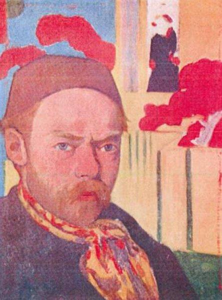 Autoporträt, 1889-1891. Meyer de Haan