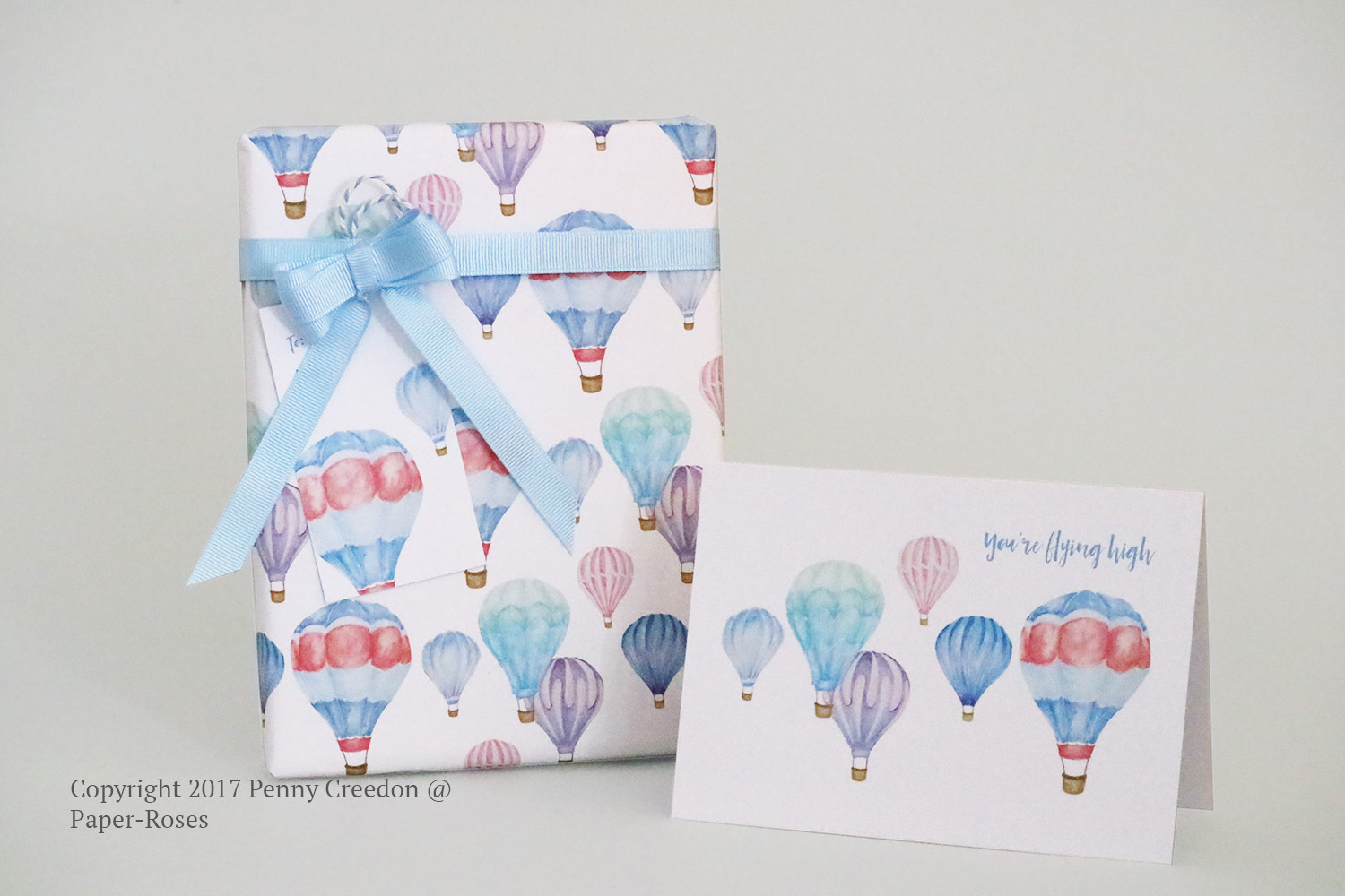 Paper-Roses | You're flying high collection