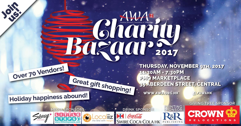 Paper-Roses | Events | AWA Charity Bazaar November 2017