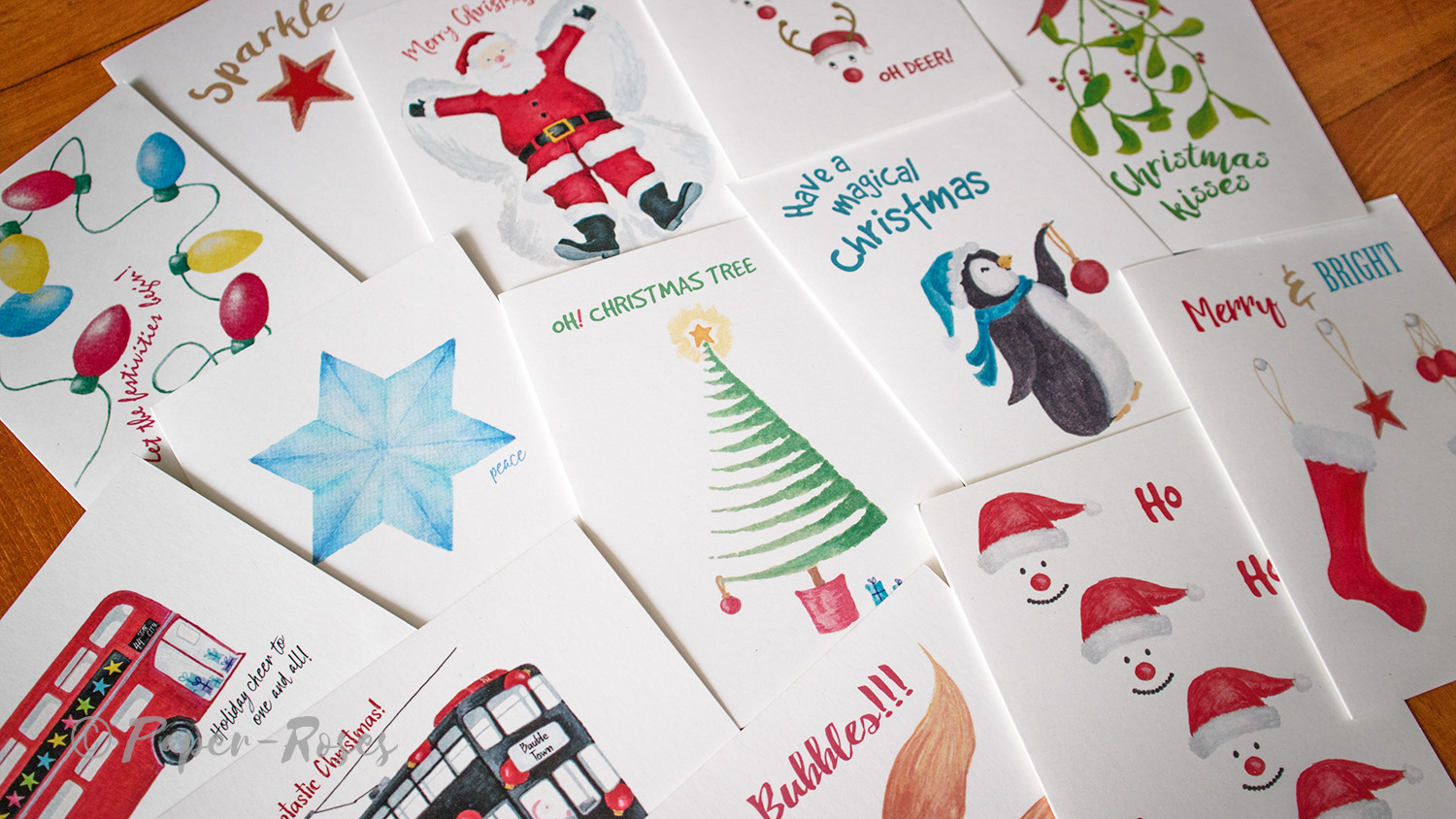 Paper-Roses | Festive shop | Christmas and holiday cards