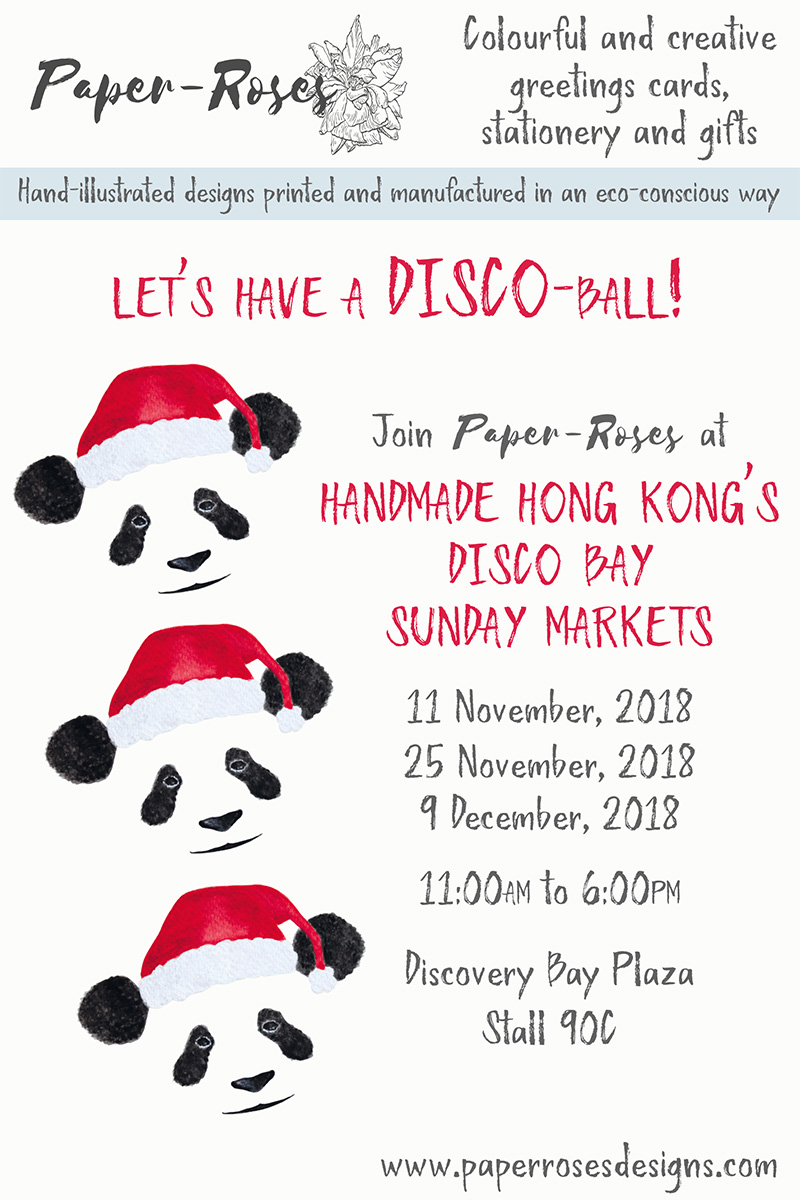Paper-Roses | Events | Discovery Bay Sunday Markets | Christmas 2018
