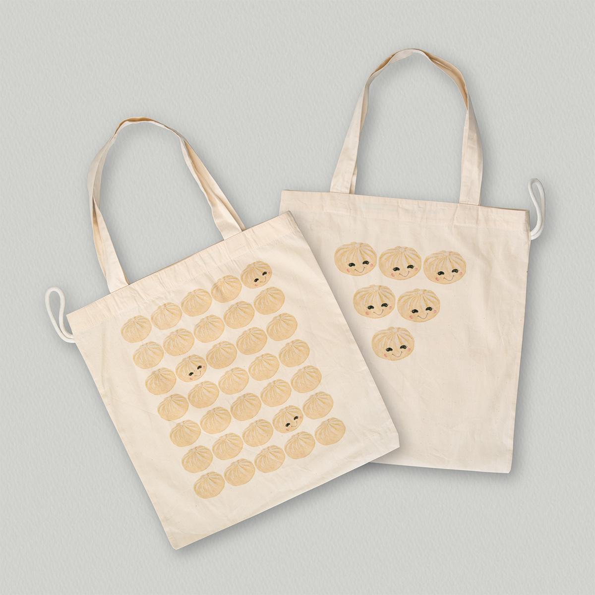 Paper-Roses | Gifts & Goodies | Dumplings tote bag