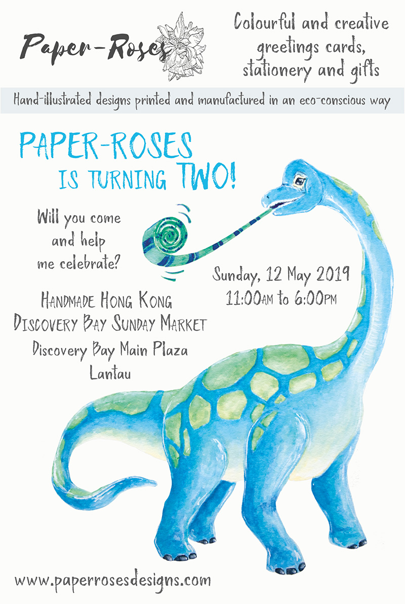 Paper-Roses | Events | Discovery Bay Sunday Market | 12 May 2019