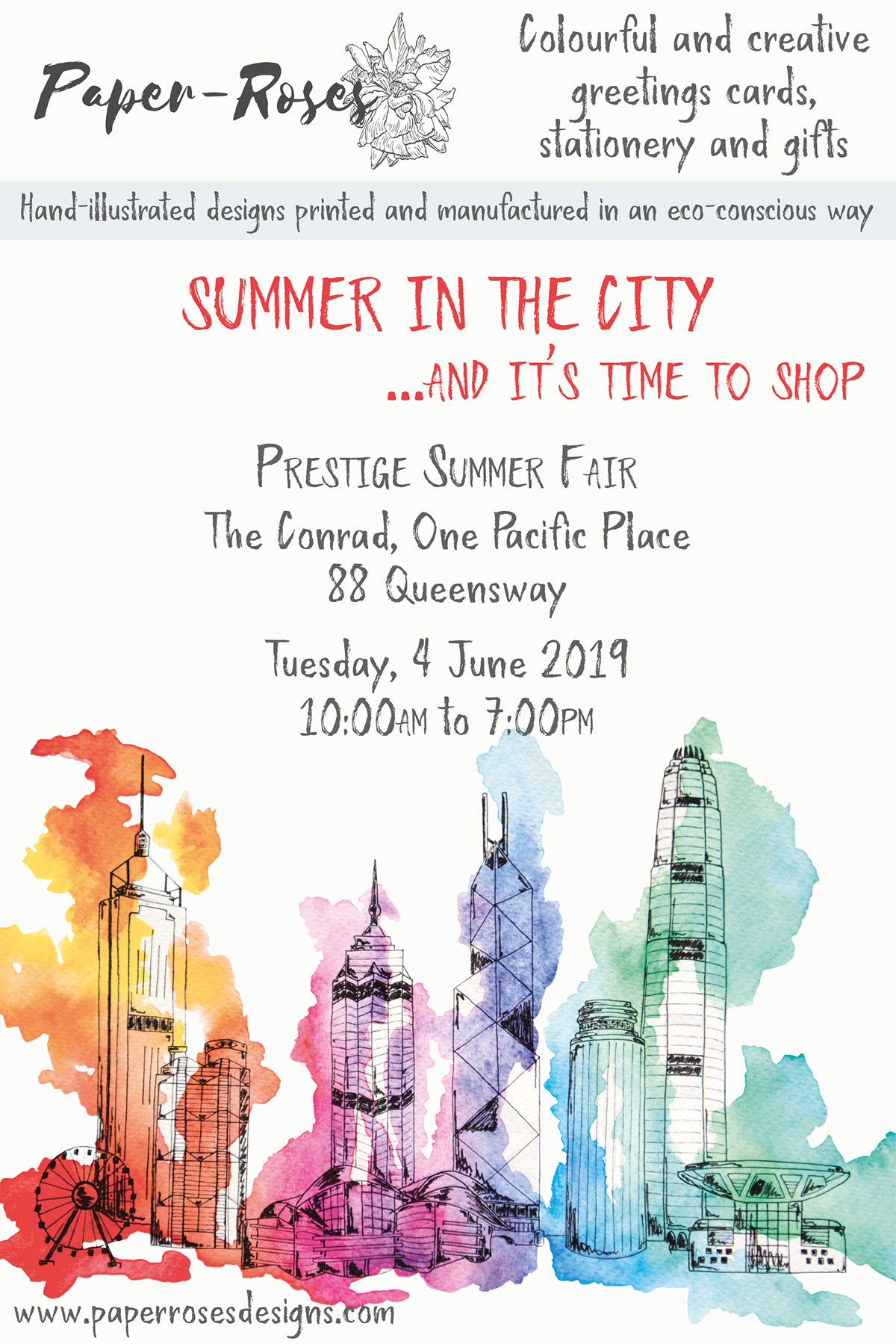 Paper-Roses | Events | Prestige Summer Fair | 4 June 2019
