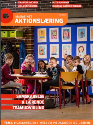 """Magasinet Aktionslæring – vol 2: ''Samskabelse og lærende teamudvikling"""", Ambios   Hent her"""