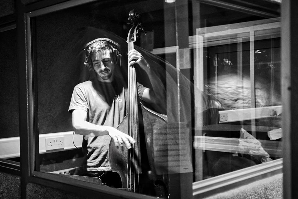 in the studio with Sam Barnett, 2016