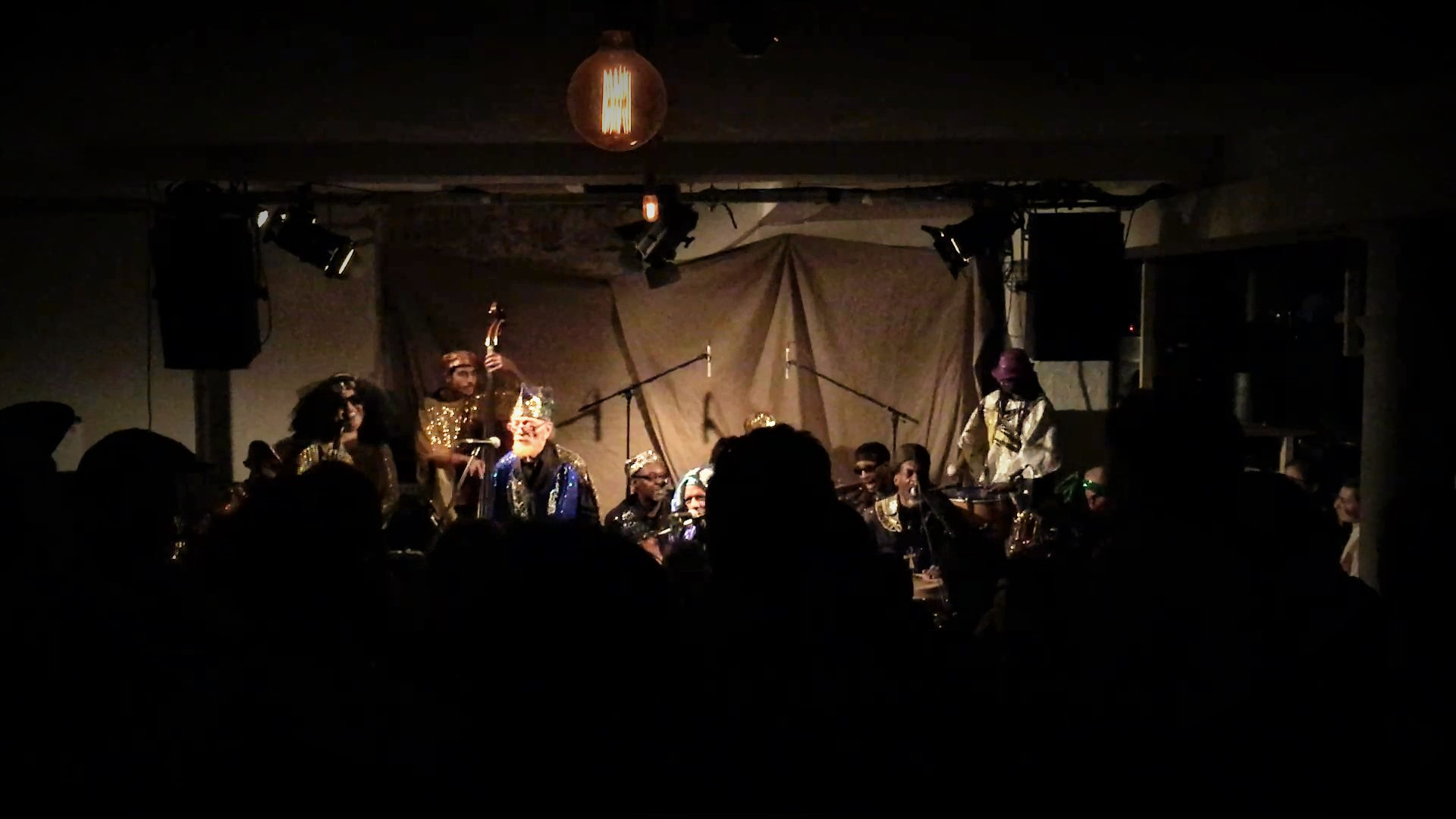at cafe OTO with the SUN RA ARKESTRA 2016