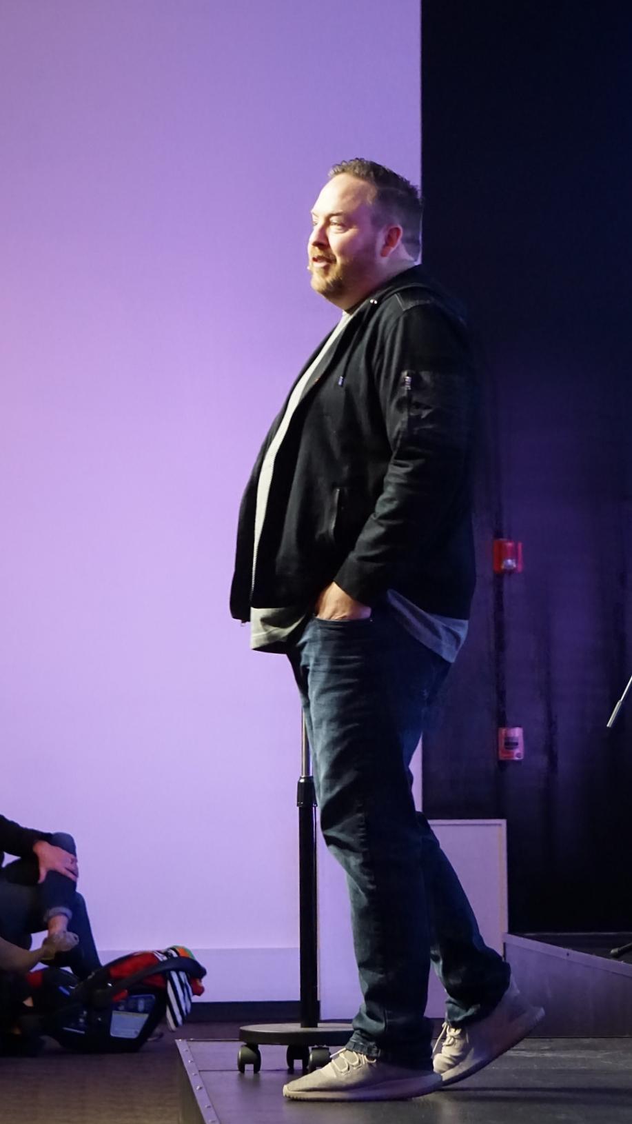Pastor Matt Molt.