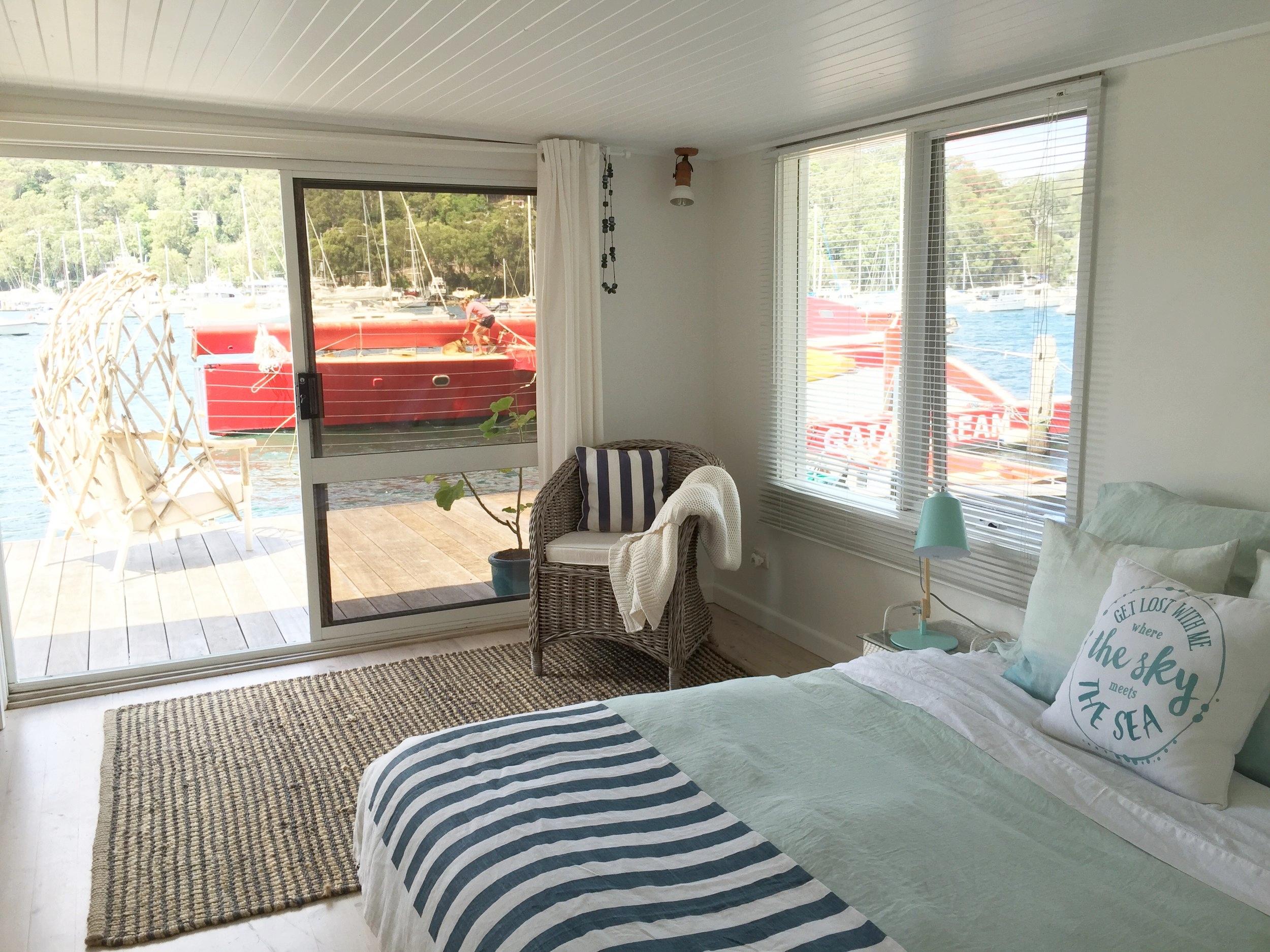 Ground floor, queen bedroom with deck.jpg