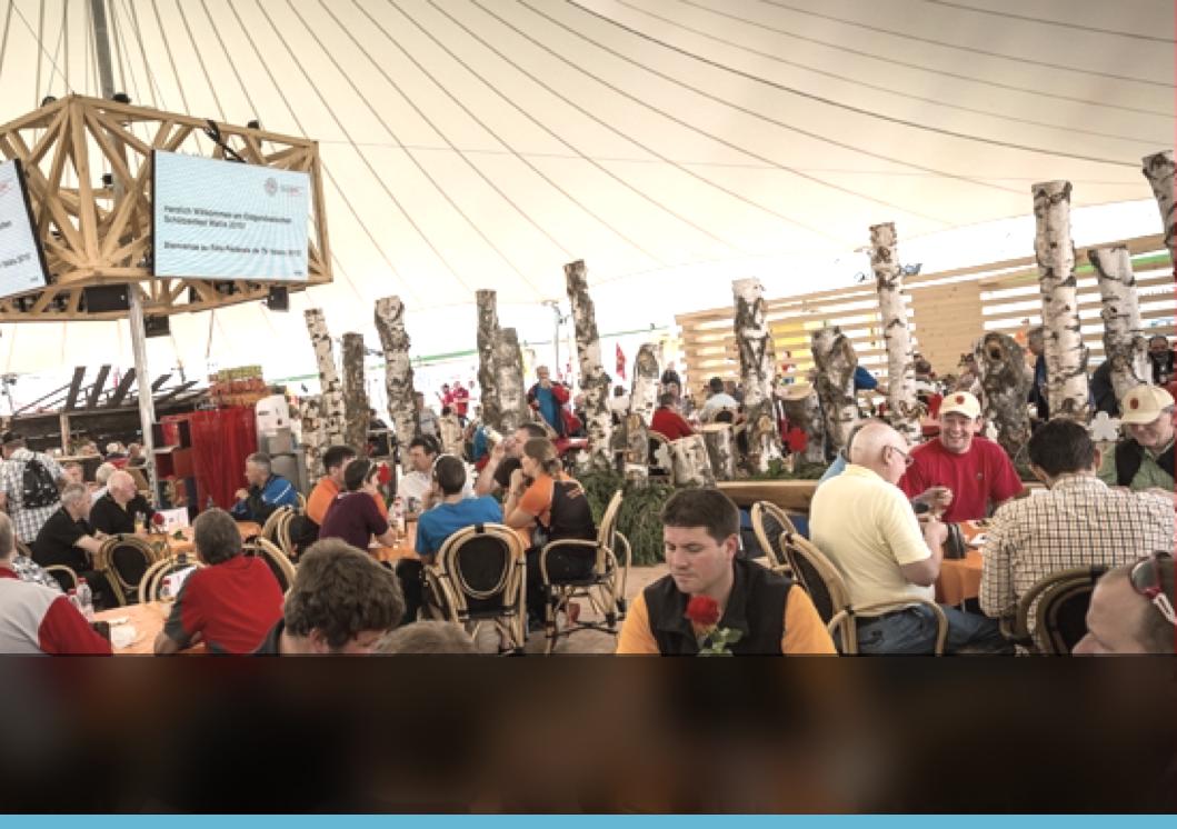 """""""Prendere gli ordini al tavolo e stampare le comande su piu' postazioni ci ha permesso di migliorare la nostra organizzazione e produttività nel servire piu' di 40.000 piatti durante l'evento."""""""