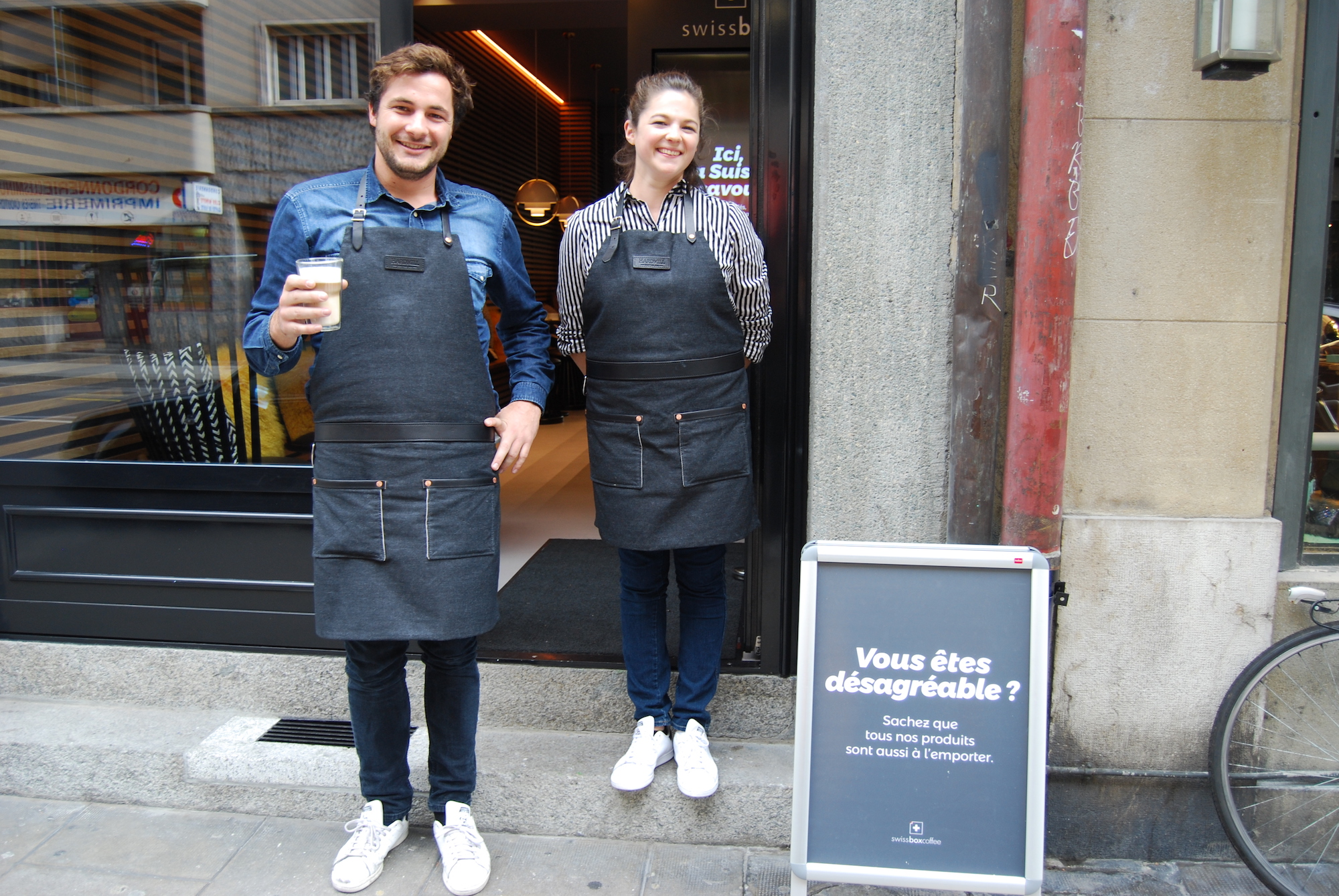 Jordane et Clara du swissbox coffee