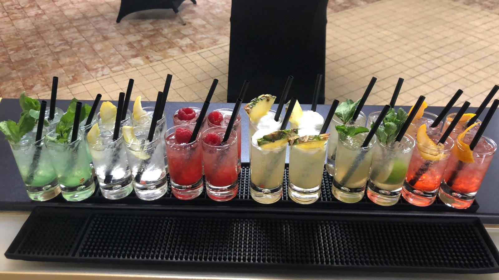 Créations de cocktails de la Distillerie Morand