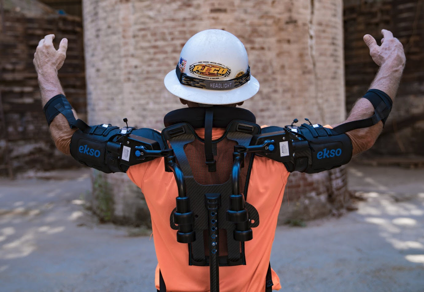 Image Credit: Eksobionics  Eksobionics are the leader in Exoskeletons, Isonomic are able to work with our clients to bring this technology to your workforce as part of your innovation and safety strategy
