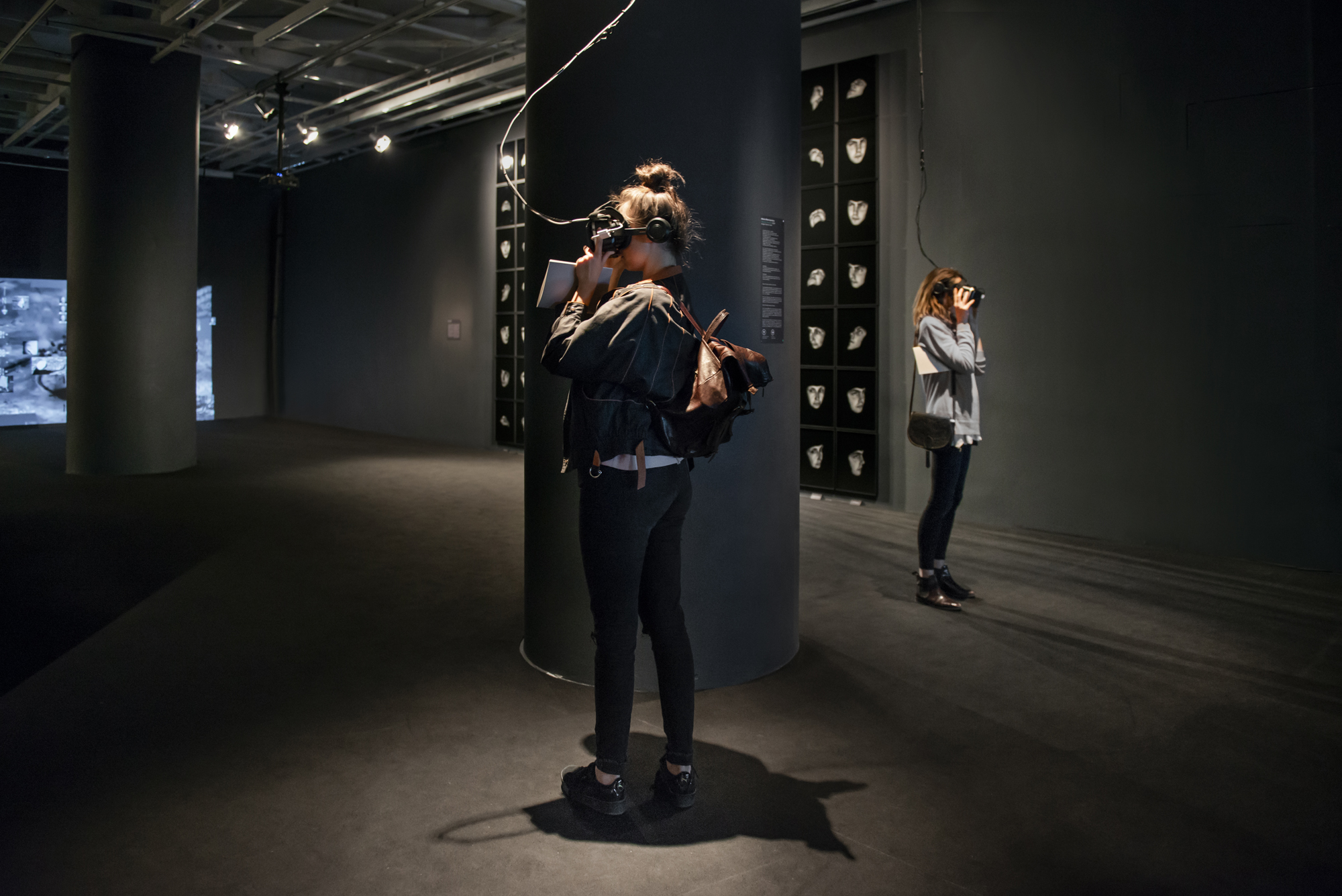 For ever more images?, Maria Mavropoulou, Family Portraits virtual tour, art exhibition, Onassis cultural centre, Athens, Greece.