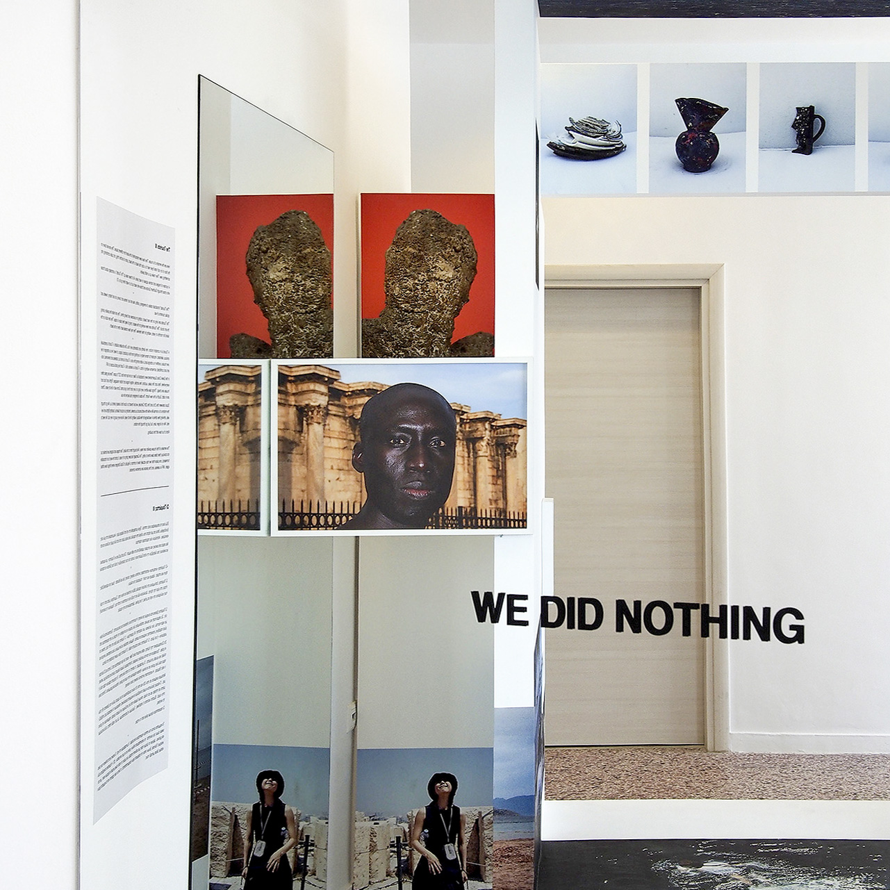 exhibition   «13,700,000 km3», curated by Katerina Gregos, Art Space Pythagorion, Samos, Greece. maria mavropoulou