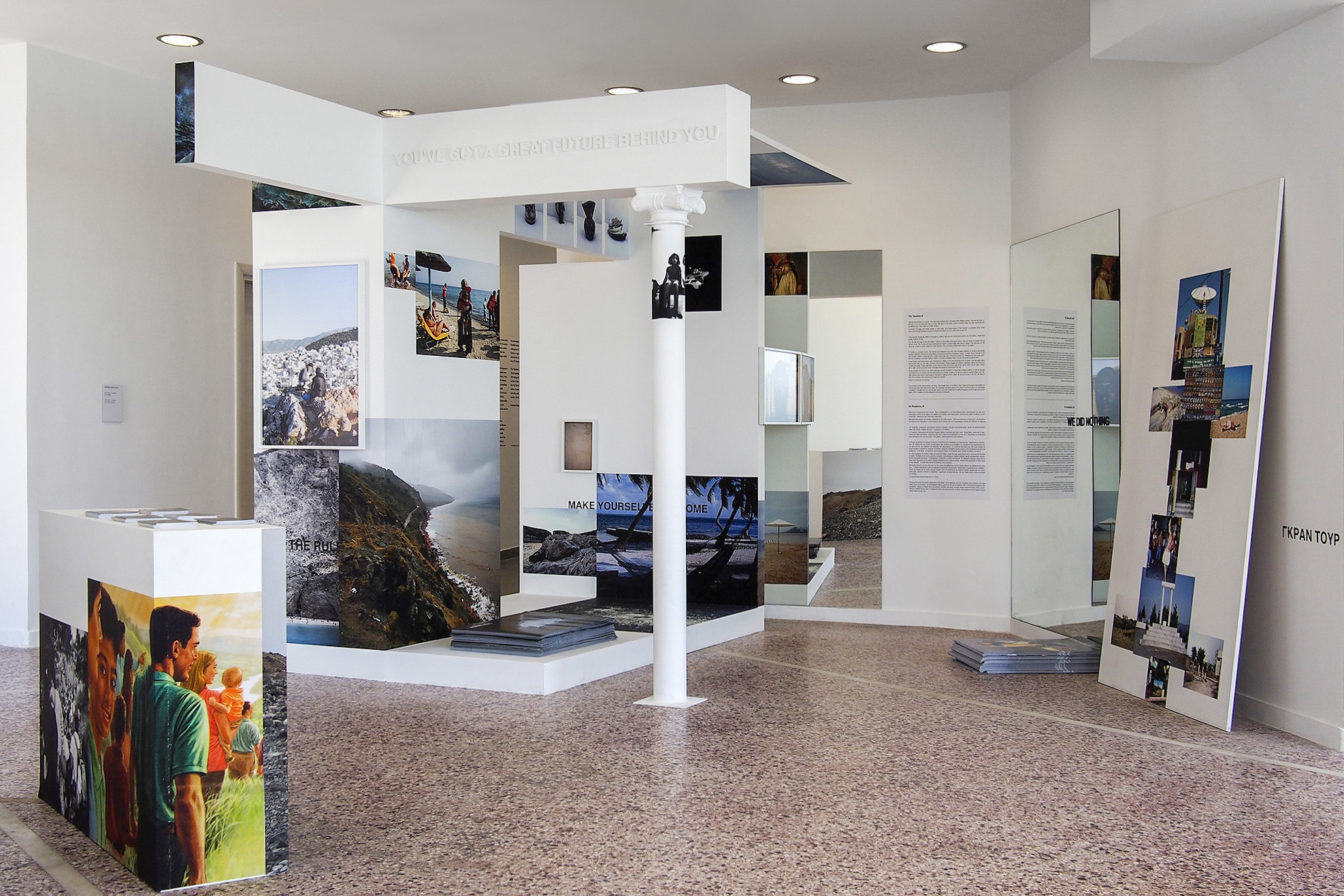 Depression Era exhibition   «13,700,000 km3», curated by Katerina Gregos, Art Space Pythagorion, Samos, Greece.
