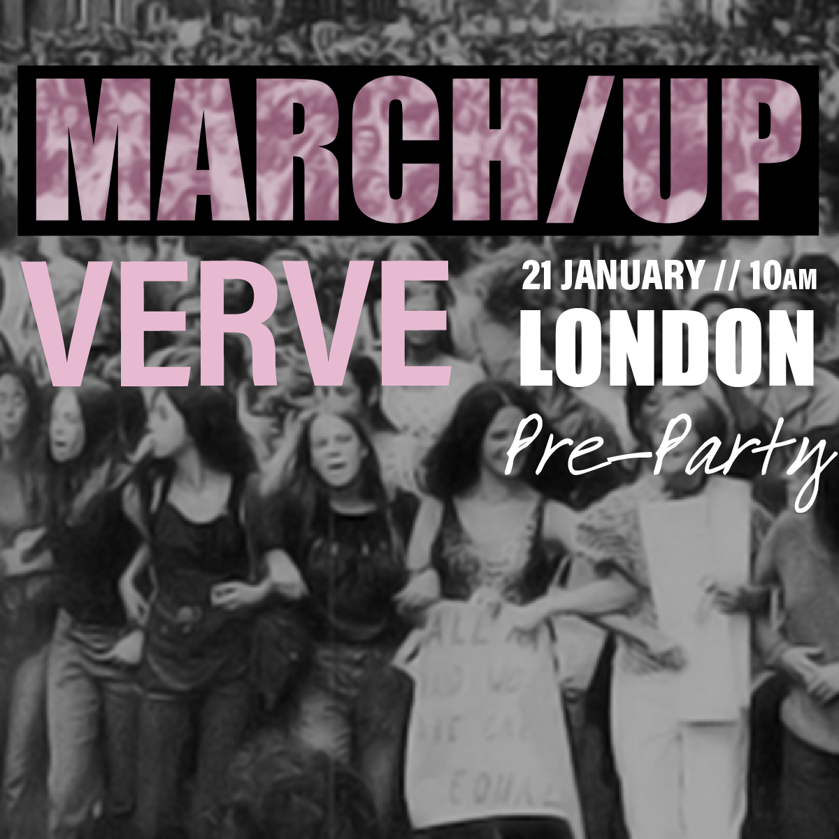VERVE MARCH UP